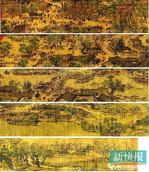 清明上河图 (故宫博物院藏)