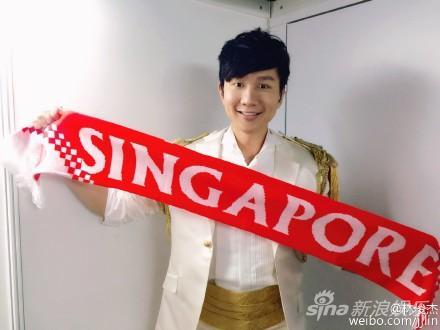 林俊杰庆祝新加坡建国50周年