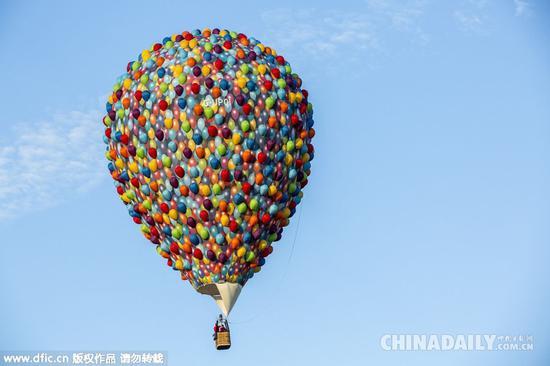 飞机走开我要热气球 带我呆萌的触摸天空