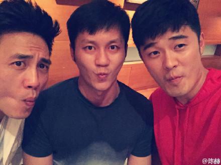 陈赫、李晨、杜淳搞怪三兄弟卖萌