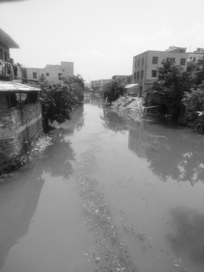 外沙河水质欠佳