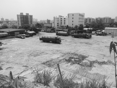 市民反映的扰民停车场