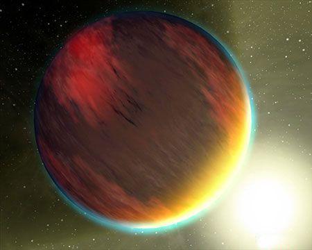 行星HD 209458b(新浪科技配图)
