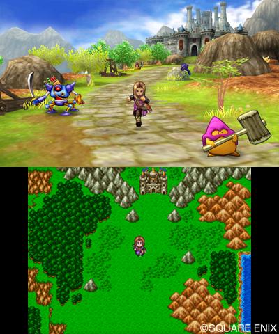 《勇者斗恶龙11》3DS版游戏画面