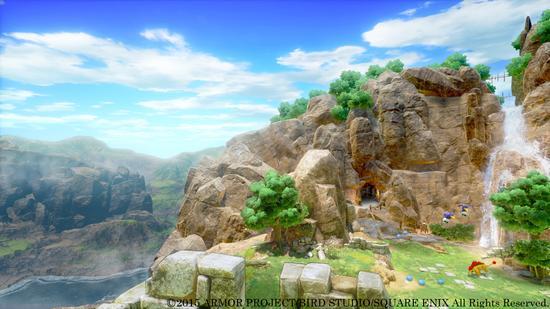 《勇者斗恶龙11》PS4版游戏画面