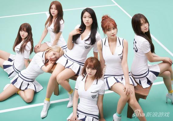 韩国女子组合AOA