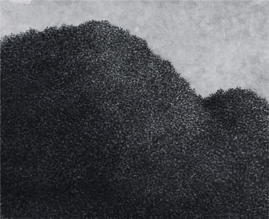 丛林No.01 33x40.5cm 纸本水墨 2015