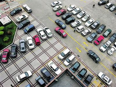 海口一停车场。