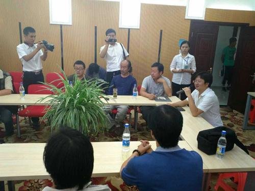 北京经纬文化顾问有限公司总经理刘凯宁在研讨会上发言