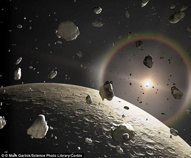 太阳系曾有大型原行星 并形成今天的地球和火星