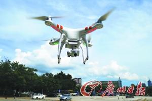 无人机兴起带旺培训市场。广州日报记者轩慧摄