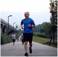 NCR跑团团长 胡鹏博士