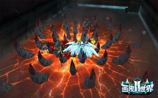 图7 《画皮世界2》战斗画面