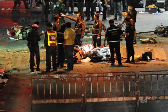 泰国曼谷市中心发生爆炸 3名中国公民遇难