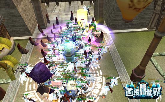 图2 《画皮世界2》江都怪物攻城