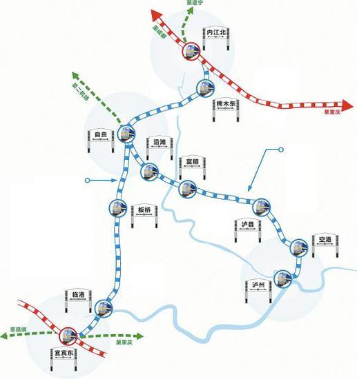 川南城际铁路预计12月动工