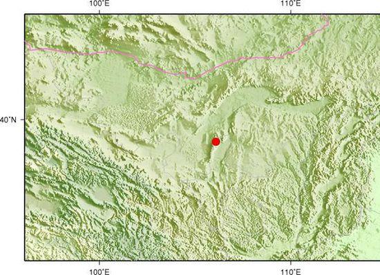 内蒙古阿拉善左旗(爆破)发生2.9级地震