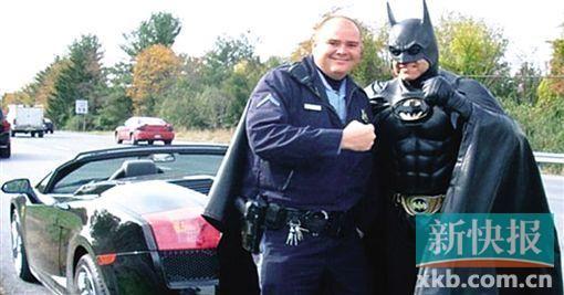 ■连警察都是鲁滨逊的粉丝。
