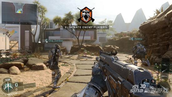 《使命召唤12》beta体验:画面提升武器惊艳_电视游戏图片