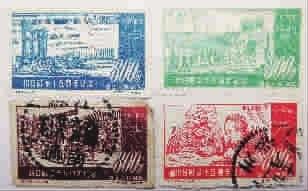 新中國首套抗戰郵票