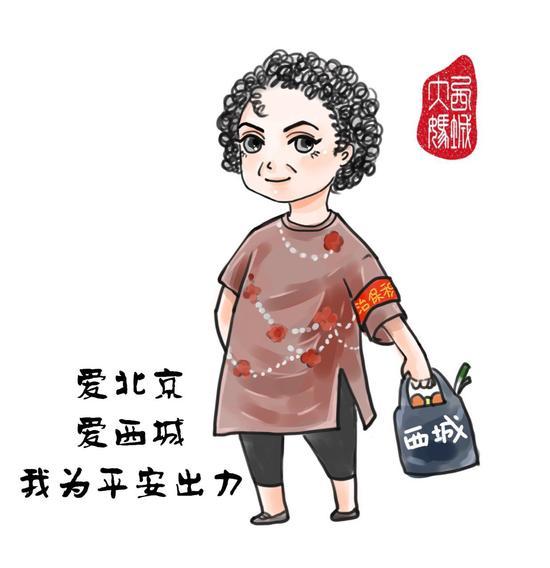 北京警方推朝阳群众和西城大妈 ...