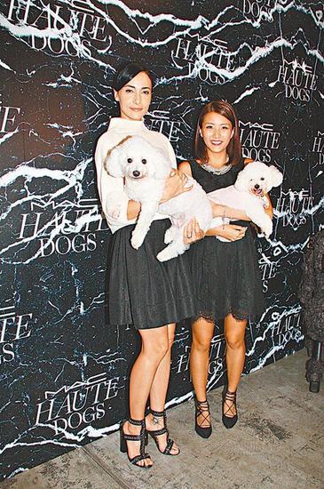 Lisa S.(左)和陈嘉桓
