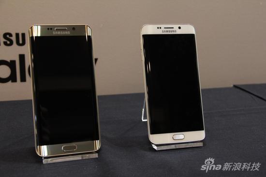 三星Galaxy S6 edge+与Note5