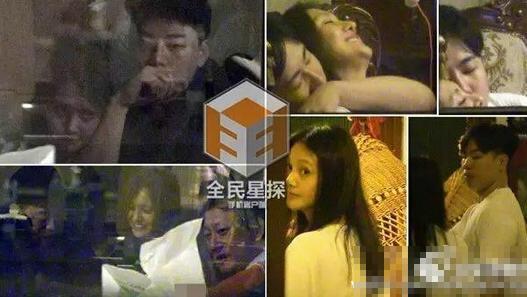 """郑爽胡彦斌恋情""""坐实""""。(图片来源:全民星探)"""
