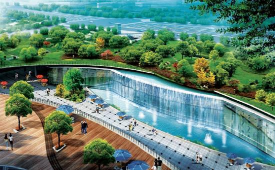 合肥南站南广场设计方案公布 地下三层可停车购物高清图片
