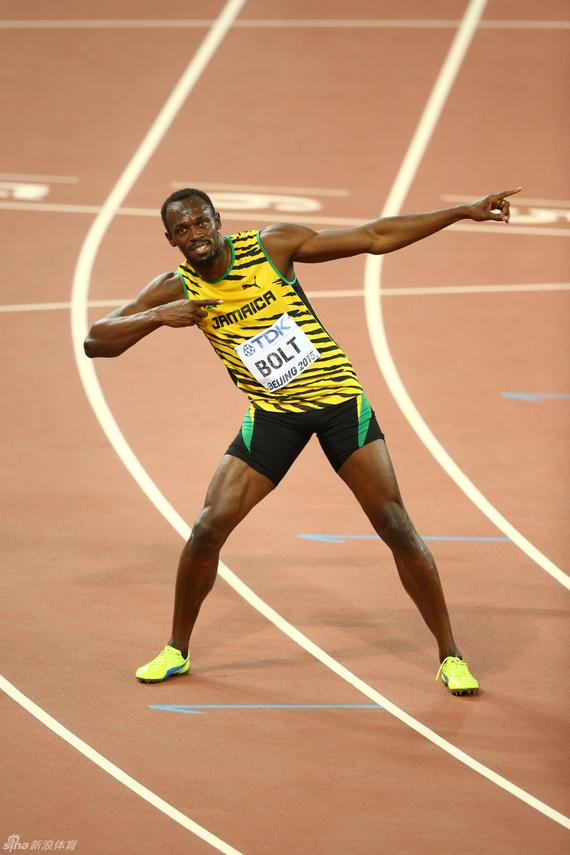 博尔特卫冕百米冠军