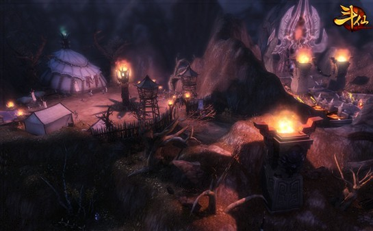 图4:《斗仙》游戏截图