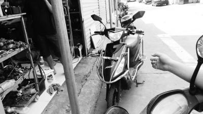 黄先生被盗的电动车