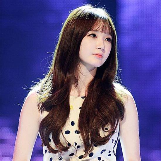 姜敏京   韩国女子组合davichi成员之一