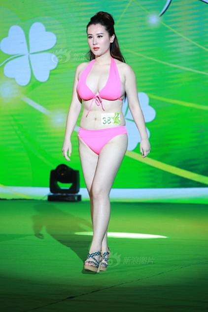 亚洲小姐海选涌现重量级佳丽 网友纷纷吐槽