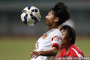 女足亚青赛-中国0-2朝鲜 与韩国争世青赛名额