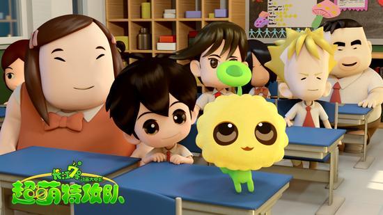 电影宝库 > 正文     新浪娱乐讯 2008年,周星驰首部真人动画相结合的图片