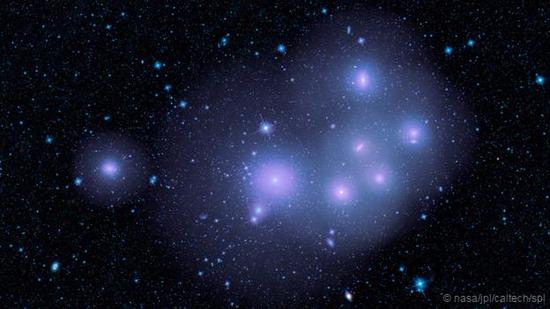 天炉星系团,如果没有暗物质的存在,它将分崩离析