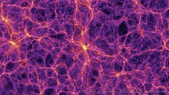 宇宙暗物质分布地图