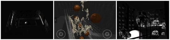 今日美术馆•未来馆 实体展\虚拟展\第三方(增进现实)三大空间效果图