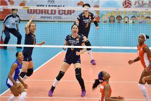 女排世界杯中国3-0轻取古巴 曾春蕾16分荣膺最佳