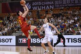 亚锦赛-中国女篮击败韩国两连胜 邵婷17分