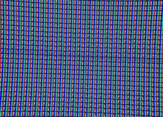 8K清晰度电视的四色像素结构