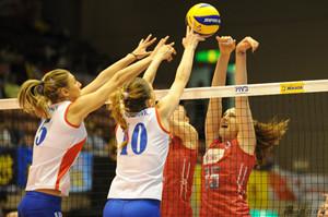 塞尔维亚3-2破俄罗斯金身 女排世界杯已没全胜队