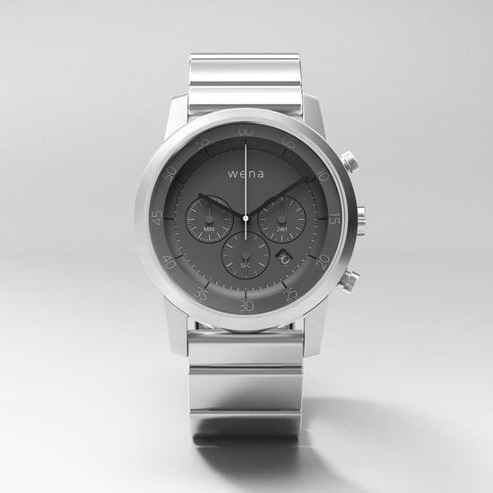 索尼與西鐵城合作推出Wena:商務范的智能手錶