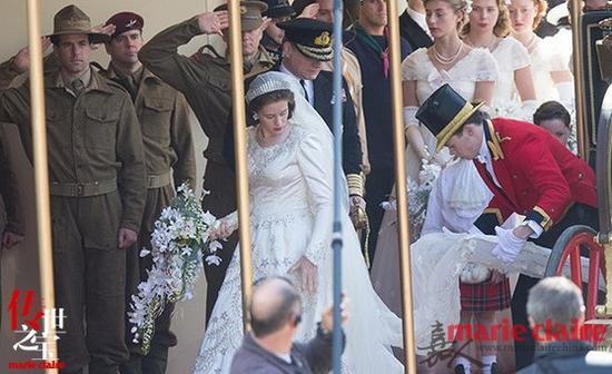 英剧《皇冠》火热拍摄 珠宝鼎力助女王添风采|《皇冠》|英剧|伊丽莎白女王