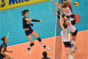 世界杯中国女排3-0阿根廷 朱婷强势复出再获最佳