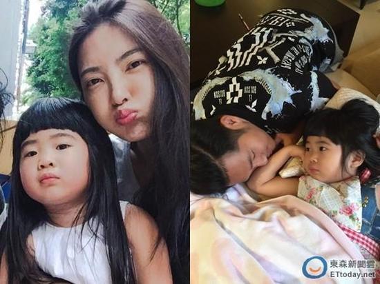 吴速玲、曹格与女儿