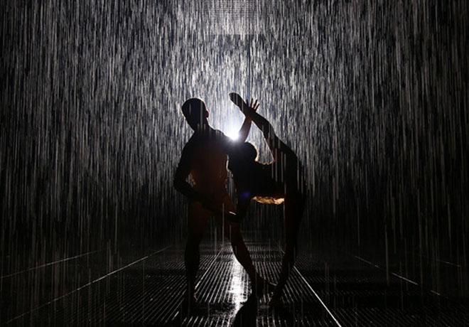 大众汽车文化项目启动雨屋于上海开幕