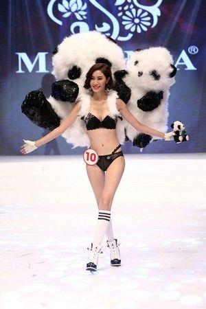 熊猫当然不能缺席。(台湾东森新闻云)