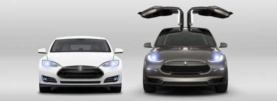 特斯拉Model X已支持預定:定金10萬元